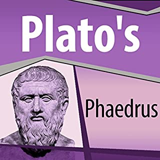 Plato's Phaedrus audiobook cover art