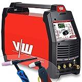 soldador tig Porfi Kombi - Equipo de soldadura DC WIG 200 Puls con cortador de plasma TIG MMA E-Hand Inverter 4 en 1