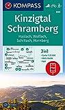 KOMPASS Wanderkarte Kinzigtal Schramberg, Haslach, Wolfach, Schiltach, Hornberg: 3in1 Wanderkarte 1:25000 mit Aktiv Guide inklusive Karte zur offline ... Langlaufen. (KOMPASS-Wanderkarten, Band 880)