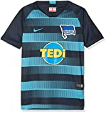 Nike Kinder Hertha BSC Breathe Stadium Away T-Shirt, Dark Obsidian/Chlorine Blue, M