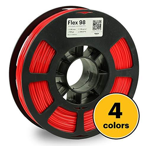 Kodak 3D Print Filament FLEX 98, 2,85 mm, 2426.98 cc, rot, 1