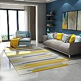 OJKYK Alfombra De Salon Tendencia Pastel Diseño Geométrico Inspiración Multicolor para Dormitorio Sala De Estar Habitación De Los Niños Decoración,A,200X300 cm