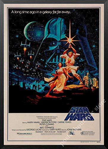 Hollywood Sci-Fi Comics Estrella de cine Personaje sable de luz Skywalker Darth Vader Jedi Wars Cartel retro Arte de la pared Pintura en lienzo Sala de estar Dormitorio Decoración del hogar