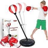 KMUYSL Punching Bag for Kids, Boxing Bag Set for Age 5,6,7,8,9,10, Height...