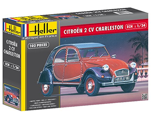 Heller 80766 Citroën 2Cv Charleston - Maqueta de Coche Antiguo