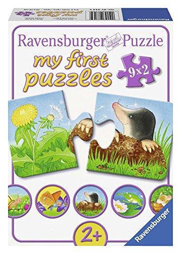 Ravensburger Kinderpuzzle 07313 - Tiere im Garten - my first puzzles - 2,4,6,8 Teile