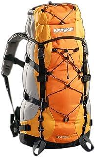 AB06L01 Outdoorund Aspensport Borneo - Mochila de Senderismo (55 L), Color Naranja