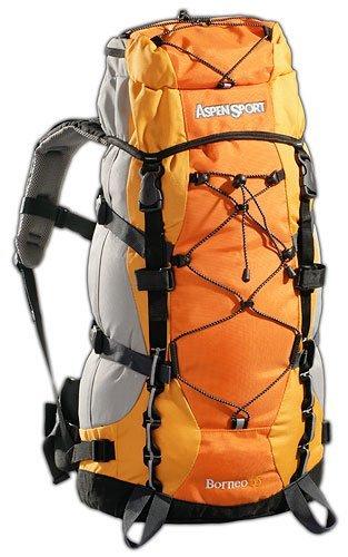 Black Canyon AB06L01 Outdoorund Aspensport Borneo - Mochila de Senderismo (55 L), Color Naranja