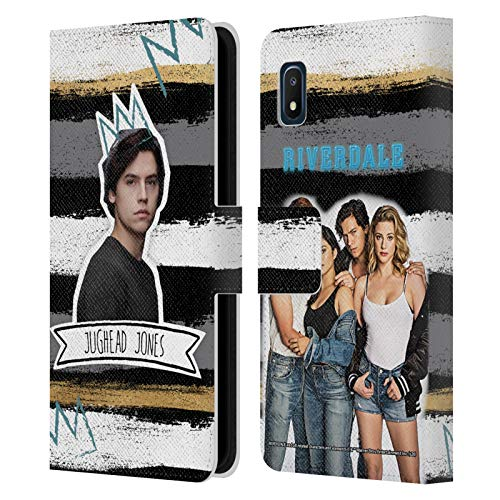 Head Case Designs Officially Licensed Riverdale Jughead Jones Graphics Leather Book Wallet Case Cover Compatible with Samsung Galaxy A10e (2019)