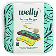 Welly Bandages - Bravery Badges, Assorted Floral Variety Flex Fabric Bandages 48 ct