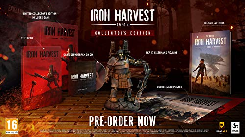 Iron Harvest 1920+ Collector's Edition - Collector's - PC [Esclusiva Amazon.it]