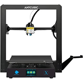 ANYCUBIC MEGA X 3D Printer, Large Metal FDM 3D Printer with Patented Heatbed and Free 1kg PLA Filament, Build Size 300X300X305mm
