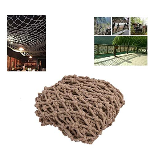 Buy LYRFHW Balcony Anti-Fall Nets Stair Decorationsafety Netting ,Retro Bar Ceiling Hanging Netsï¼...