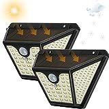Tasmor 2pcs Luz Solar, Focos Solares, Focos LED Exterior, Farolas...