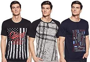 ACTIQUE N104 Men T-Shirt (N104M3_P$_Pack of 3)