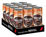 NESCAFÉ Xpress Cappuccino, ready to drink Eiskaffee, 12er Pack (12 x 250 ml)