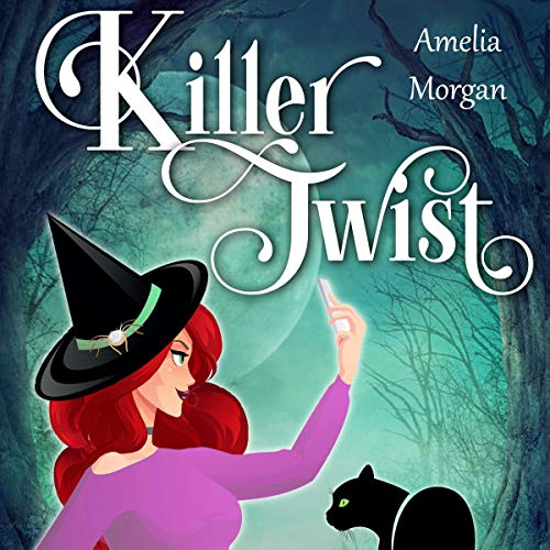 Killer Twist audiobook cover art