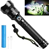 Powerful Rechargeable Flashlights High Lumens, Super...