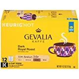 Gevalia Dark Royal Blend Coffee, Bold Roast, K-Cup Pods, 12 Count