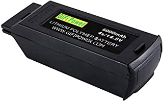 6000mah 4S 14.8V Upgrade High Power LiPO Battery Compatible with YUNEEC Typhoon H Drone (1 Pack)
