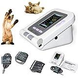 CONTEC08A-VET Digital Veterinary Blood Pressure Monitor NIBP Cuff,Dog/Cat/Pets (CONTEC08A-VET with 3 Cuffs)