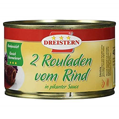 3x 2 Rinderrouladen in pikanter Sauce (3 x 400g)