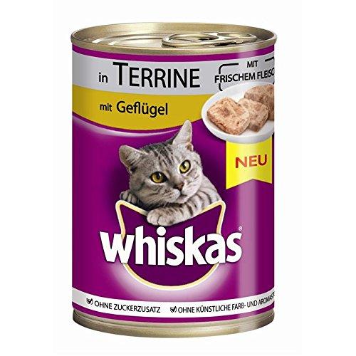 Whiskas | Adult Geflügel in Terrine | 12 x 400 g