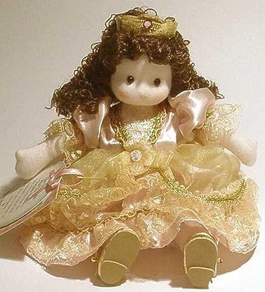 Green Tree Princess Pea Handmade Musical Doll Windup To Hear Brahm S Lullaby