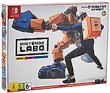 Carte de jeu du Kit Robot 19 planches de carton 4 feuilles de papier cartonné 1 planche d'autocollants 4 ficelles 12 oeillets 4 sangles
