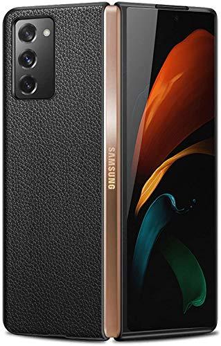 Capa Capinha Galaxy Z Fold 2 Tela 7.6 Leather Luxo Case Impacto - Danet