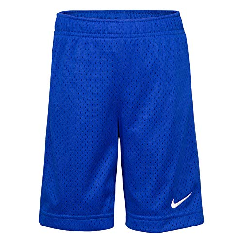 NIKE Children's Apparel Boys' Little Mesh Shorts, Hyper Royal, 7