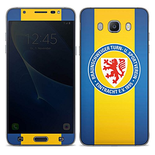 DeinDesign Samsung Galaxy J7 (2016) Folie Skin Sticker aus Vinyl-Folie Aufkleber Eintracht Braunschweig Fanartikel Football