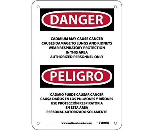 NMC ESD28AD OSHA Bilingual Sign pcs 8 ESD28