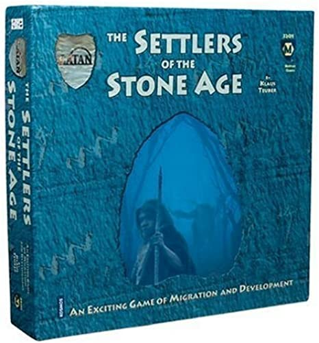 Settlers of the Stone Age by Mayfair Games (English Manual)