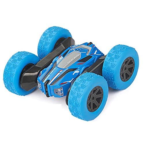 Coche RC Stunt para niños/360 vueltas de doble cara giratoria/todo terreno Off-Road Rock Crawler escalada buggy/4WD 2.4Ghz Control remoto coche/mejor regalo para niños de más de 6 años