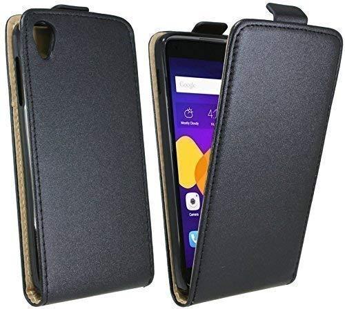ENERGMiX Handytasche Flip Style kompatibel mit Alcatel One Touch Idol 3 (5,5