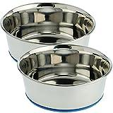 Our Pets Premium DuraPet Dog Bowl, 4 Cups (2 Pack)
