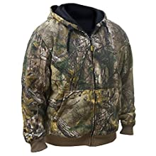 DEWALT DCHJ074D1-L Realtree Xtra Camouflage Heated Hoodie, Large, Camouflage