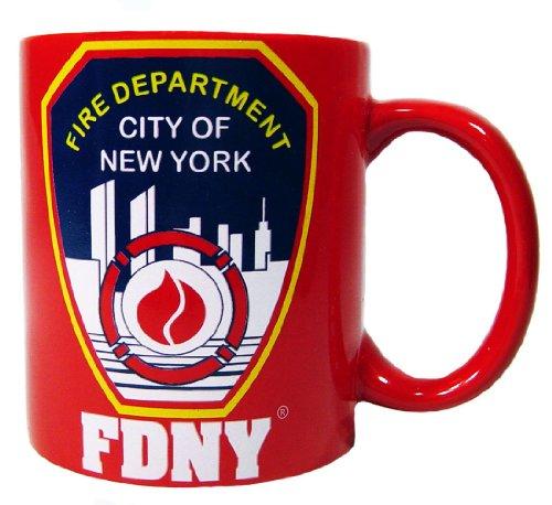 FDNY Kaffeebecher Offizielles Lizenzprodukt von der New Yorker Feuerwehr