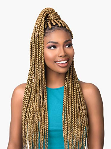 """MULTI PACK DEALS! Sensationnel Synthetic Hair Braids XPRESSION 3X Ruwa Pre Layered Braid 48"""" (3-PACK, 1)"""