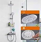 Ducha Juego de ducha Grifo Ducha caliente y fría Baño Ducha de lluvia Juego de rociadores Sistema de ducha Juego de ducha