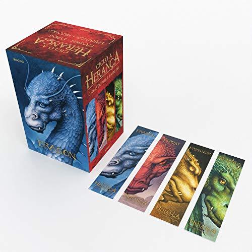 Box Ciclo A Herança (Eragon) 4 marcadores