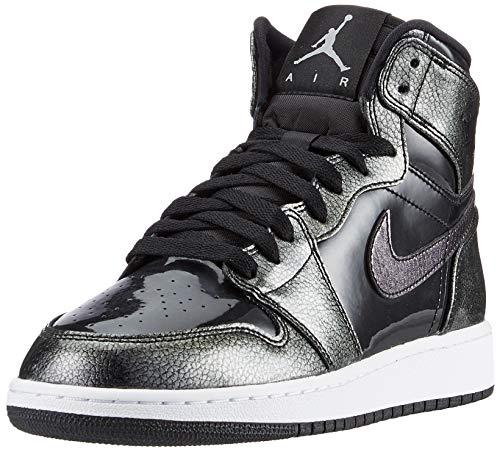 Nike Jordan Schuhe - Air Jordan 1 Retro High Bg schwarz/weiß/schwarz Größe: 39