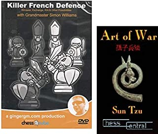 Killer French Defense, Part 2: Winawer, Exchange, KIA and other Possibilities Chess DVD bundled with Art of War DVD