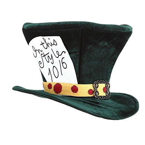 Village Hats Chapeau Fantaisie Haut de Forme The Mad Hatter Elope - Taille Unique