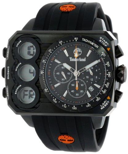 Timberland Men's TBL_13673JSB_02S Ht3 Digital Chronograph 3 Hands Date Watch