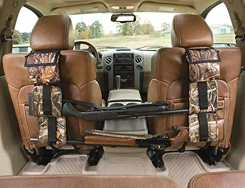 EastDeals Hunting Gun Sling, Car Concealed Seat Back Gun Rack to Hold 2 Rifles/Shotguns with A Storage Bag for Rifle Hunting Fits Most Sedans SUV Pickup Mini Vans Jeeps in Pair
