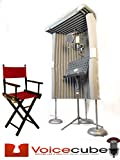 PRO LEVEL PORTABLE VOCAL BOOTH The VoiceCube Empire 4' thick