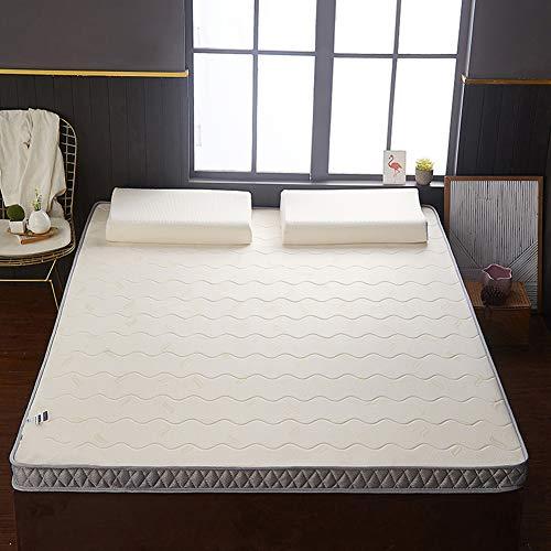 JIAO&M Colchón Futón,Grueso Alta Densidad Esponja Colchón,Soltero Plegable Alfombrilla Tatami,para El Dormitorio Estudiantil C 135x200cm(53x79inch)