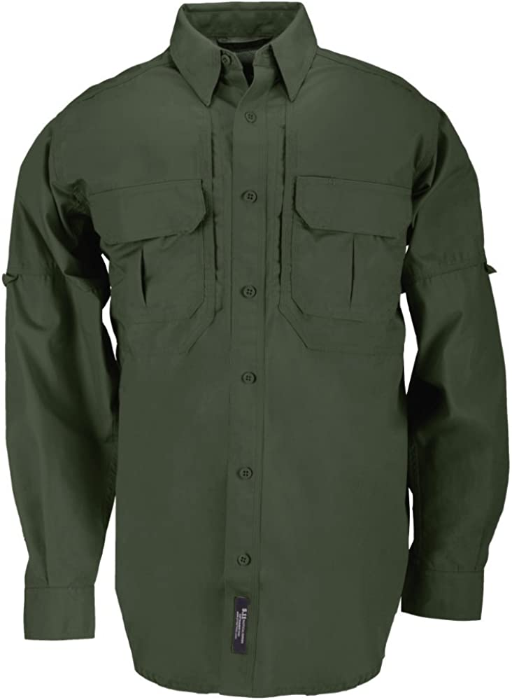 5.11 Men's Cotton Multi-Purpose Sale Special Price Tactical Shirt Long Styl Cheap mail order shopping Sleeve